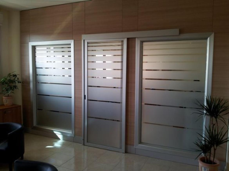 glass center mola - specialisti del vetro - Vetri Sabbiati Per Porte